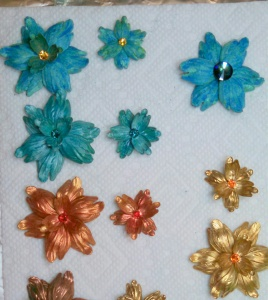 Design #1 Colored Tulip Beads