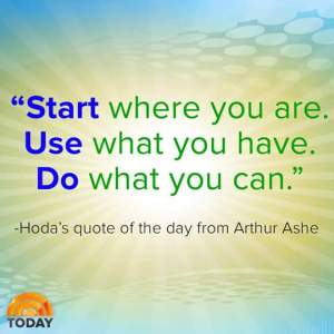 Hoda's Quote of the Day
