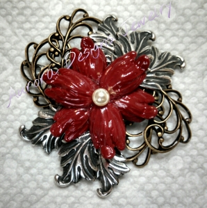 Brooch or Small Assemblage Pendant