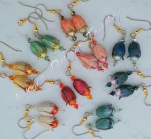 Earrings to match small pendants